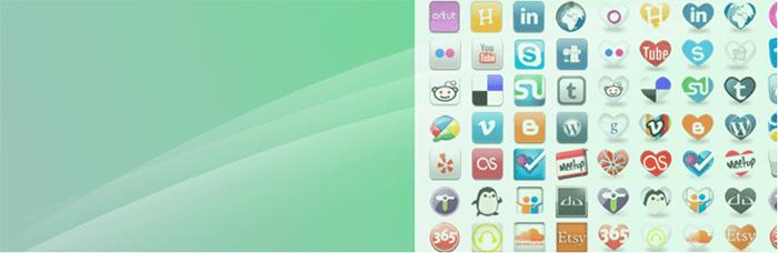Social Media Widget: SNSのアイコンを52種類も利用できるWordPressプラグイン