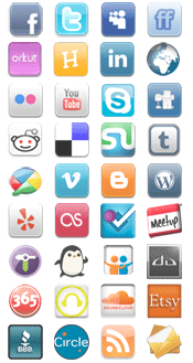 Web 2.0 icon pack