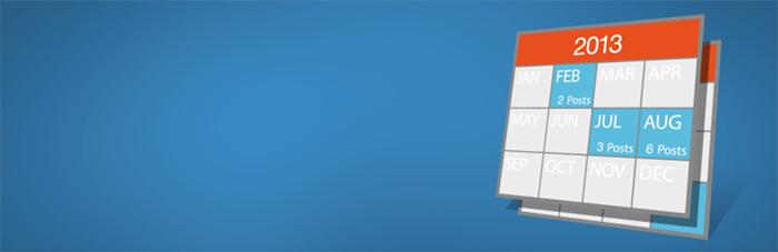Archives Calendar Widget - カレンダー形式のアーカイブを表示できるWordPressプラグイン